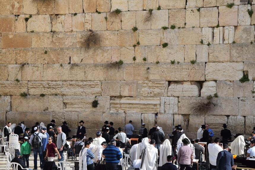Judarna är nu tillbaka i Israel.